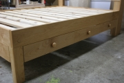Alder full/double with 3 drawers, storage headboard