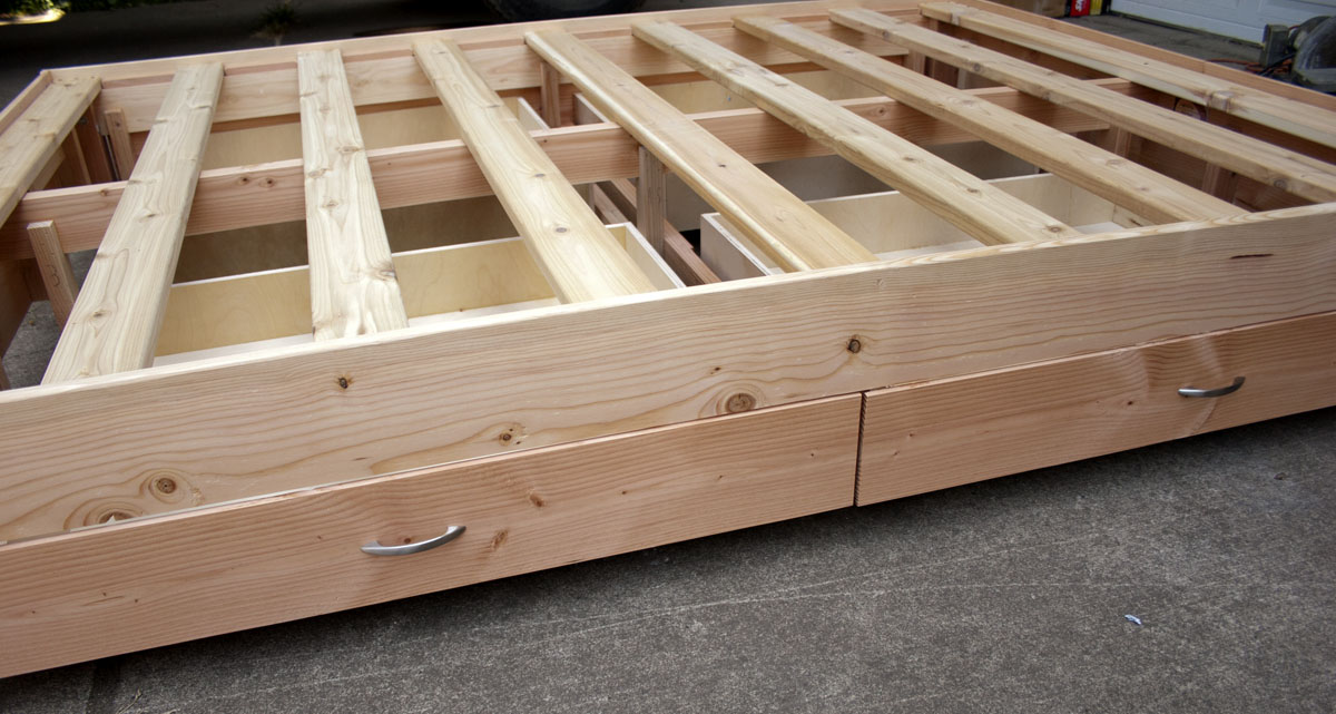 Fir drawers